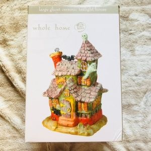 Like New Whole Home Large Ghost Ceramic House
